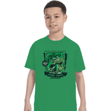 Load image into Gallery viewer, Shirts T-Shirts, Youth / Small / Irish Green The Green Bastard