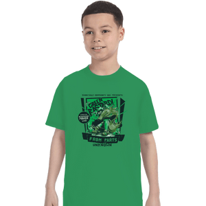 Shirts T-Shirts, Youth / Small / Irish Green The Green Bastard