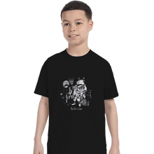 Load image into Gallery viewer, Shirts T-Shirts, Youth / XL / Black The Force Side