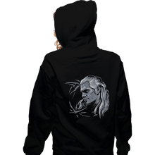 Load image into Gallery viewer, Shirts Zippered Hoodies, Unisex / Small / Black Monster Slayer