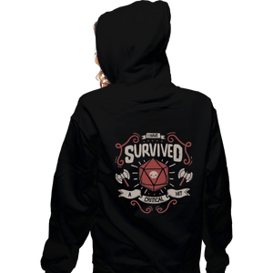 Shirts Pullover Hoodies, Unisex / Small / Black A Critical Hit