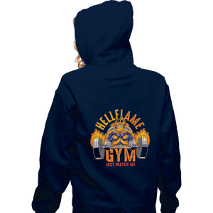 Shirts Pullover Hoodies, Unisex / Small / Navy Endeavor Gym