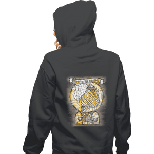 Shirts Zippered Hoodies, Unisex / Small / Dark heather Beer Is The Answer
