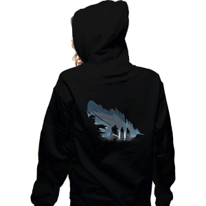 Shirts Zippered Hoodies, Unisex / Small / Black Lyanna's Feather