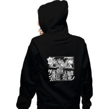 Load image into Gallery viewer, Shirts Pullover Hoodies, Unisex / Small / Black Bad Ending