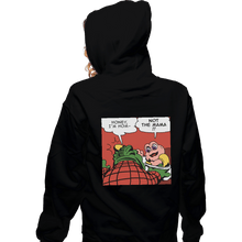 Load image into Gallery viewer, Shirts Zippered Hoodies, Unisex / Small / Black Baby Slap