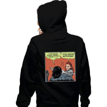 Load image into Gallery viewer, Shirts Zippered Hoodies, Unisex / Small / Black I Do Know Some Things