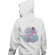 Load image into Gallery viewer, Shirts Zippered Hoodies, Unisex / Small / White A N I M E W A V E