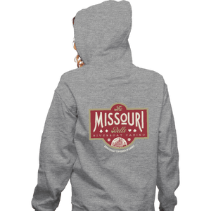 Shirts Pullover Hoodies, Unisex / Small / Sports Grey The Missouri Belle