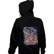 Load image into Gallery viewer, Shirts Zippered Hoodies, Unisex / Small / Black Endgrid
