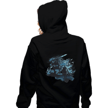Load image into Gallery viewer, Shirts Zippered Hoodies, Unisex / Small / Black Abysswalker