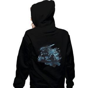 Shirts Zippered Hoodies, Unisex / Small / Black Abysswalker