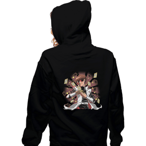 Shirts Zippered Hoodies, Unisex / Small / Black Make It Rain
