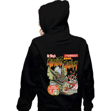 Load image into Gallery viewer, Shirts Zippered Hoodies, Unisex / Small / Black Midnite Munch