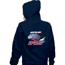 Load image into Gallery viewer, Shirts Pullover Hoodies, Unisex / Small / Navy Supersonic