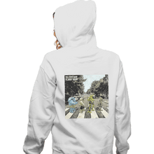 Load image into Gallery viewer, Shirts Zippered Hoodies, Unisex / Small / White Flabby Road