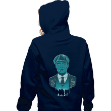 Load image into Gallery viewer, Shirts Pullover Hoodies, Unisex / Small / Navy The Leader