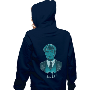 Shirts Pullover Hoodies, Unisex / Small / Navy The Leader
