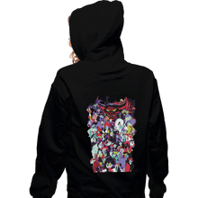 Load image into Gallery viewer, Shirts Zippered Hoodies, Unisex / Small / Black Mouse House Villains '19