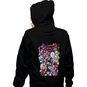 Shirts Zippered Hoodies, Unisex / Small / Black Mouse House Villains '19