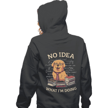 Load image into Gallery viewer, Shirts Zippered Hoodies, Unisex / Small / Dark Heather No Idea