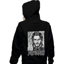Load image into Gallery viewer, Shirts Zippered Hoodies, Unisex / Small / Black Babayaga