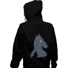 Load image into Gallery viewer, Shirts Zippered Hoodies, Unisex / Small / Black Hollywoo Starry Night