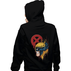 Shirts Zippered Hoodies, Unisex / Small / Black Berserker Barrage Style