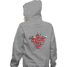 Load image into Gallery viewer, Shirts Zippered Hoodies, Unisex / Small / Sports Grey Adventure Party