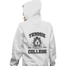 Load image into Gallery viewer, Shirts Pullover Hoodies, Unisex / Small / White Temmie College