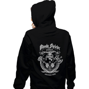 Shirts Zippered Hoodies, Unisex / Small / Black Bloody Skeletor