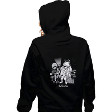 Load image into Gallery viewer, Shirts Pullover Hoodies, Unisex / Small / Black The Force Side