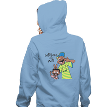 Load image into Gallery viewer, Shirts Pullover Hoodies, Unisex / Small / Royal Blue Carlton And Will