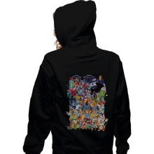 Load image into Gallery viewer, Daily_Deal_Shirts Zippered Hoodies, Unisex / Small / Black How I Spent My Saturday Mornings