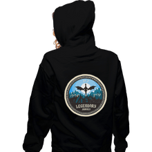 Load image into Gallery viewer, Shirts Zippered Hoodies, Unisex / Small / Black Legendary Journey