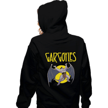 Load image into Gallery viewer, Shirts Pullover Hoodies, Unisex / Small / Black Led Gargoyles