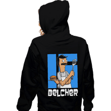 Load image into Gallery viewer, Shirts Zippered Hoodies, Unisex / Small / Black Belcher