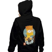 Load image into Gallery viewer, Shirts Pullover Hoodies, Unisex / Small / Black Bart Ukiyoe