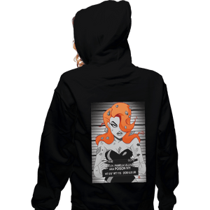 Shirts Zippered Hoodies, Unisex / Small / Black Pretty Poisonous