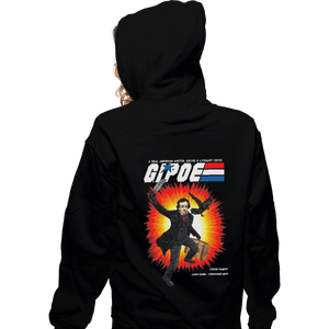 Shirts Pullover Hoodies, Unisex / Small / Black GI Poe