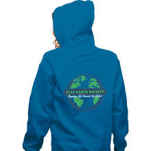 Load image into Gallery viewer, Shirts Zippered Hoodies, Unisex / Small / Royal Blue Around The Globe