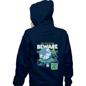Shirts Pullover Hoodies, Unisex / Small / Navy Beware Of Chomp Chomp