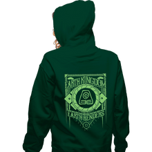 Load image into Gallery viewer, Shirts Zippered Hoodies, Unisex / Small / Irish Green Earth Kindgom