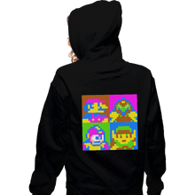 Load image into Gallery viewer, Shirts Pullover Hoodies, Unisex / Small / Black Pop NES