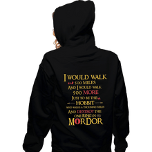 Load image into Gallery viewer, Shirts Pullover Hoodies, Unisex / Small / Black 500 Miles