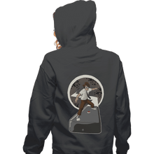 Load image into Gallery viewer, Shirts Zippered Hoodies, Unisex / Small / Dark Heather Internet Surfer
