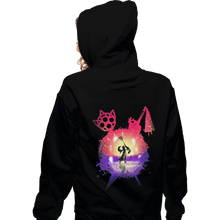 Load image into Gallery viewer, Shirts Pullover Hoodies, Unisex / Small / Black Dance Of The Summoner