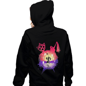 Shirts Pullover Hoodies, Unisex / Small / Black Dance Of The Summoner