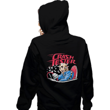 Load image into Gallery viewer, Shirts Zippered Hoodies, Unisex / Small / Black Crash Tester