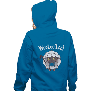 Shirts Zippered Hoodies, Unisex / Small / Royal Blue Age Of Wooloo